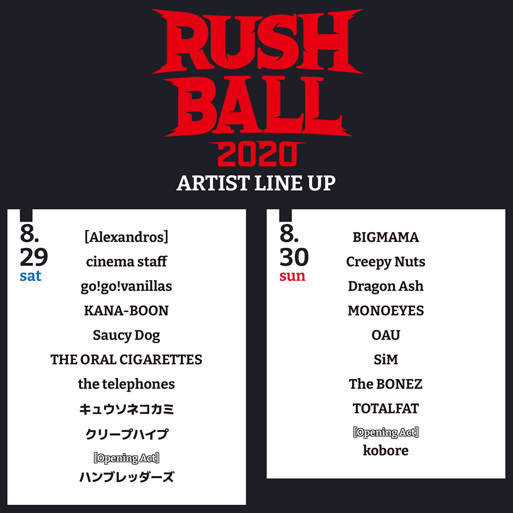 RUSH BALL 2020 GREENS 30th Anniversary Special !!!